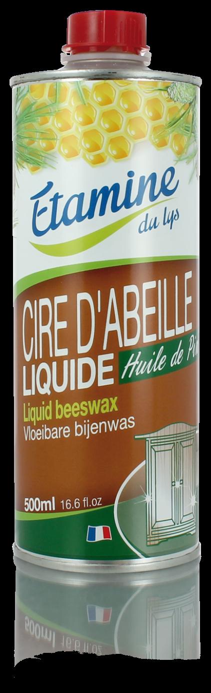 Экологичное средство Etamine du Lys для ухода и полировки мебели «Пчелиный воск» с сосновым маслом, 500 мл