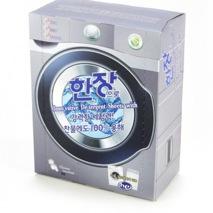 Листовой стиральный порошок Hanjang (100 шт.)