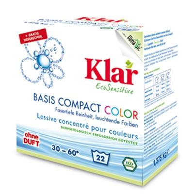 Стиральный порошок концентрированный для цветного белья Klar 1,375 кг