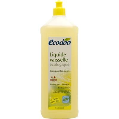 Экологичное средство для мытья посуды Ecodoo с алоэ вера, 1 л