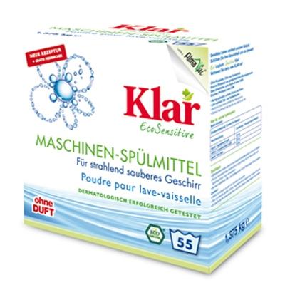 Порошок для мытья посуды для посудомоечных машин гипоаллергенный Клар 1,375 кг.