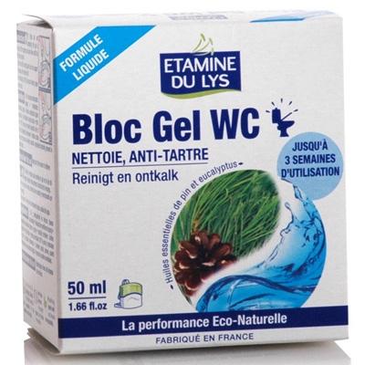 Экологичный компактный блок-гель Etamine du Lys для туалетов, 50 мл