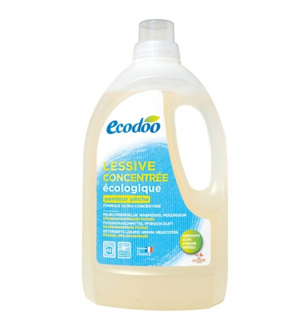 Универсальное жидкое средство для стирки белья с мыльным экстрактом ECODOO 1,5 л