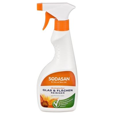 Чистящее средство для стеклянных поверхностей Sodasan
